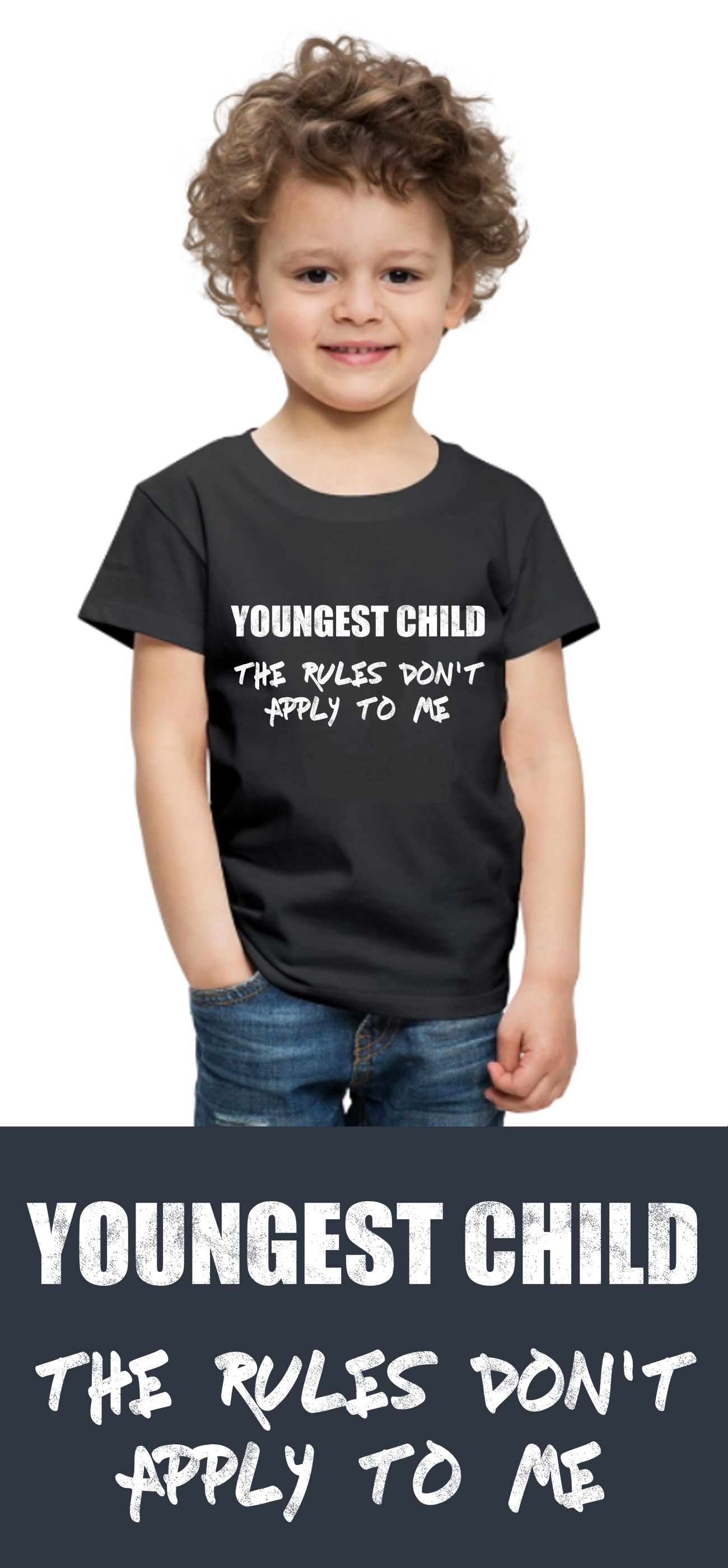 7f17c3df Youngest Child Family Matching Outfit Custom Shirt | Toddler Premium ...