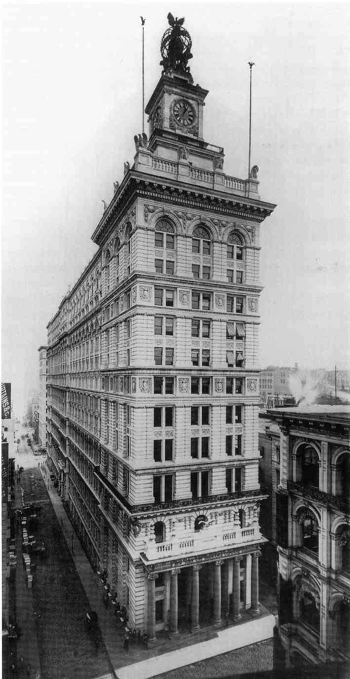 Ny Life Insurance Company Building New York Life New York
