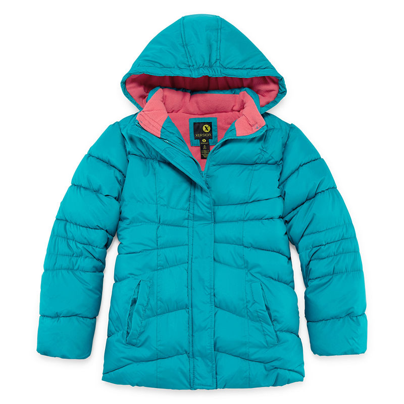 6cd5260a0 Xersion Heavyweight Puffer Jacket - Girls-Big Kid Plus | Products ...