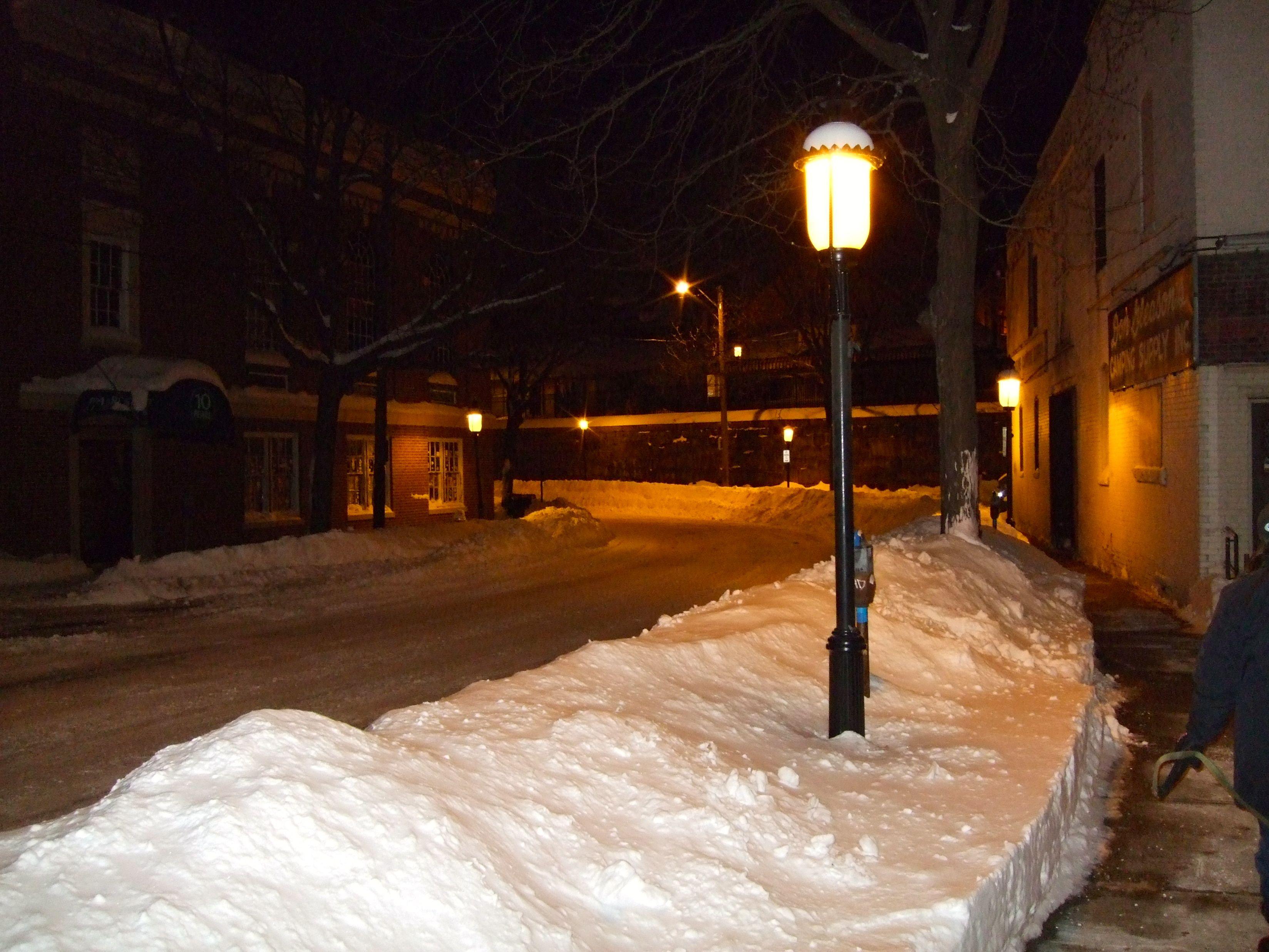 Northampton & winter snow