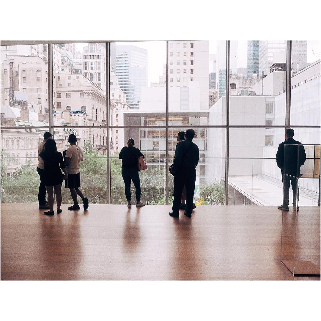 """25 mentions J'aime, 1 commentaires - @camillejoon (@its.concrete.jungle) sur Instagram: """"MoMa's view #museumofmodernart #nyc #manhattan #vscocam #vsco #vscodaily #pictureoftheday"""""""