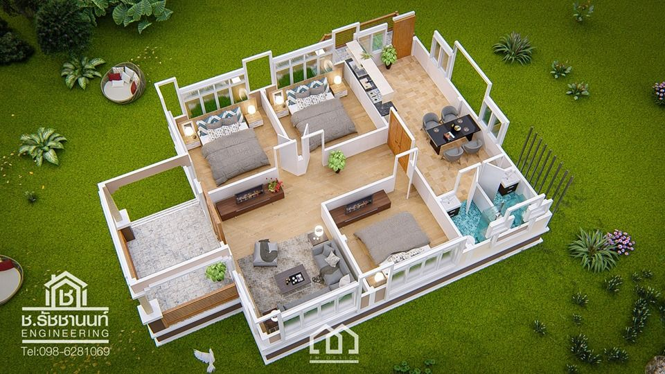 10 Contemporary House Designs With Floor Plan Perfect For Modern