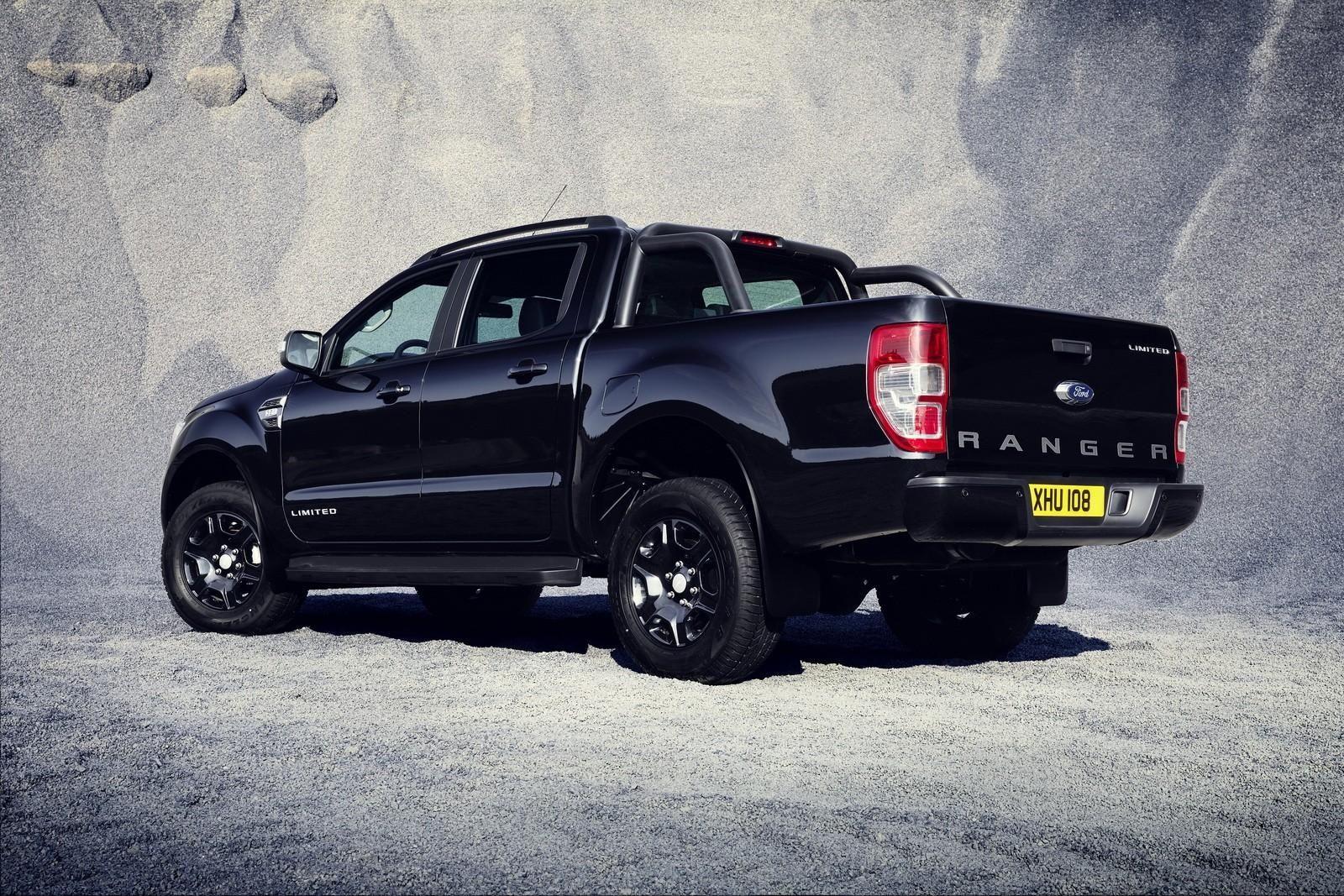 2018 Ford Ranger Black Edition Limited To 2 500 Units Autoevolution Regarding Photos