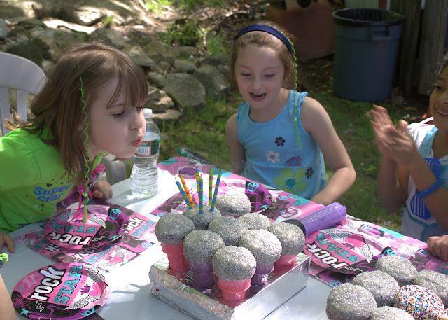 Girls Rock Star Birthday Party Ideas