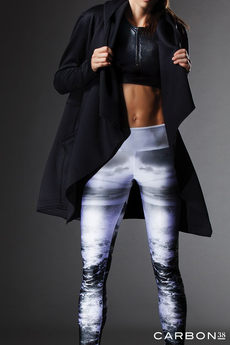 Adidas Rita Ora White Smoke Leggings Womens Pants Black
