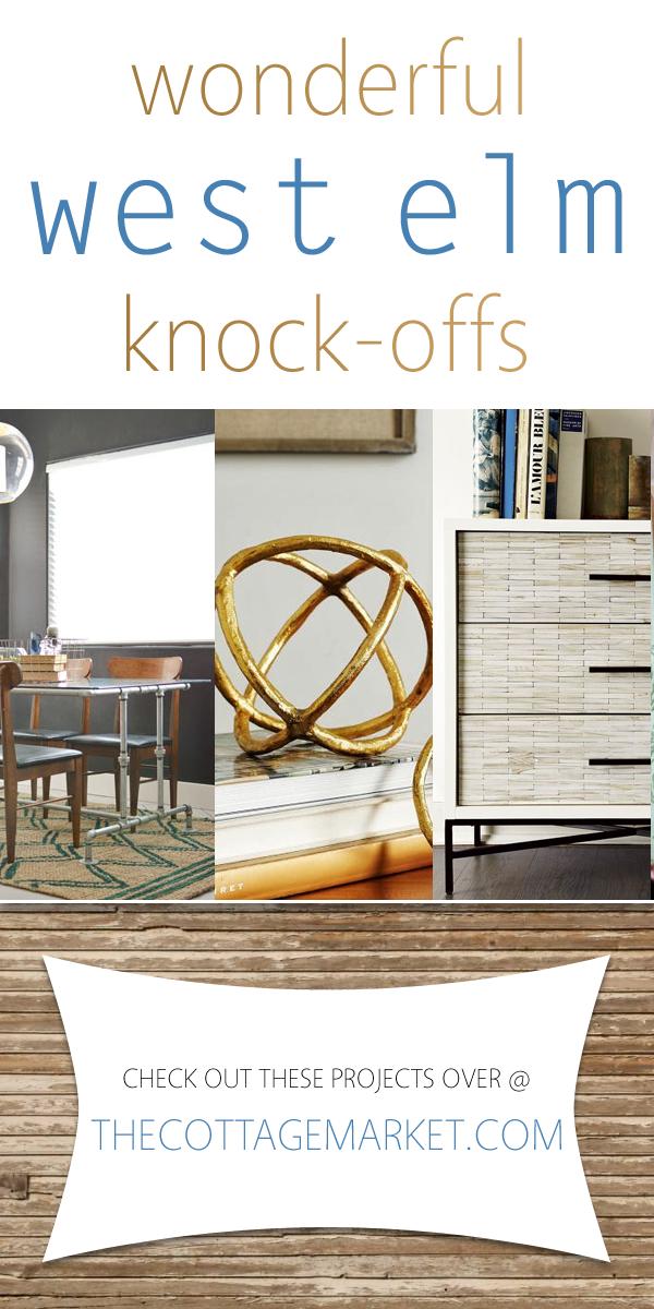 diy furniture west elm knock. Wonderful West Elm Knock-offs Diy Furniture Knock -