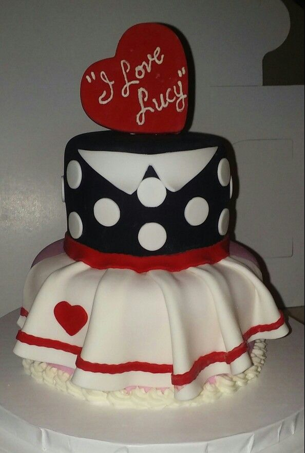 I Love Lucy Cake Cakes By Me Birthdays And Birthday