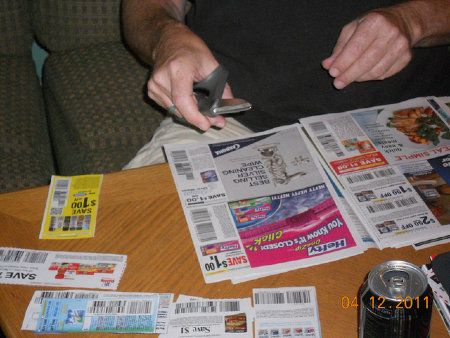 Financial fitness Task 21:Cut Coupons & Search for Deals
