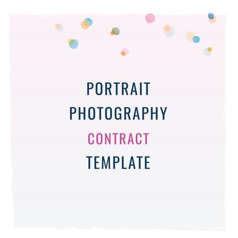Portrait Photography Contract Template - Portrait photography contract template