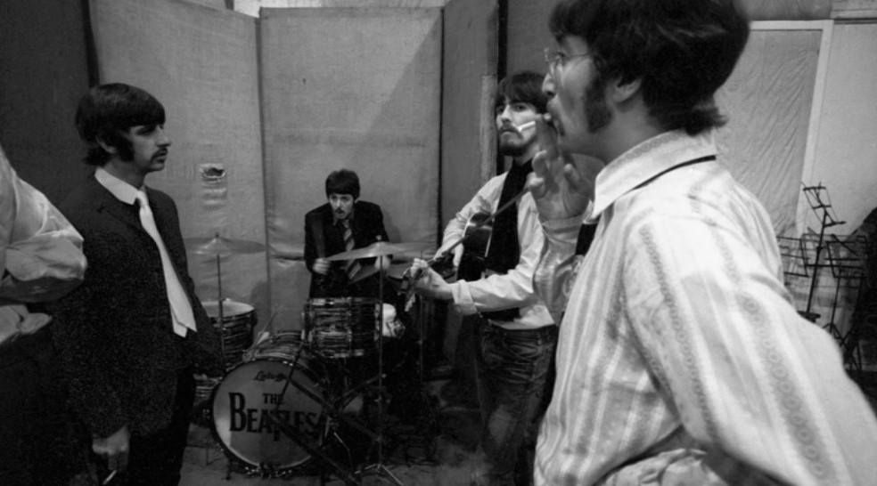 Sgt Pepper S Sessions 19 January 1967 Foto C Apple Corps Ltd Recording A Day In The Life John Lennon Beatles Beatles Rare The Beatles