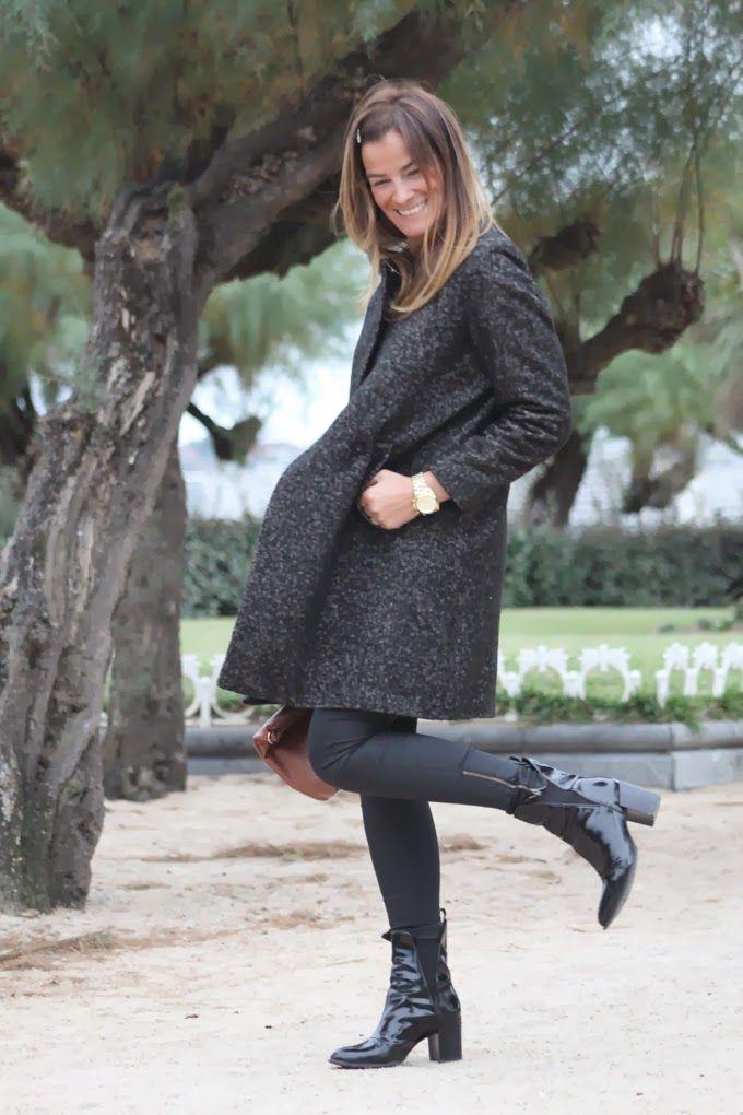¡¡ Es cuestión de Estilo !!! - Fashion Blog abrigó H&M. Botines charol Zara