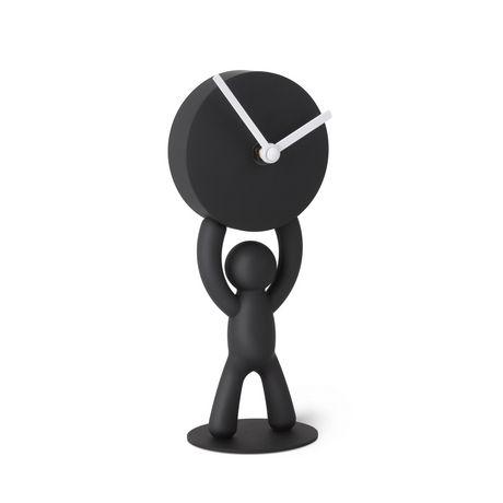 Umbra Buddy Desk Clock Black Black Desk Clock Tabletop Clocks