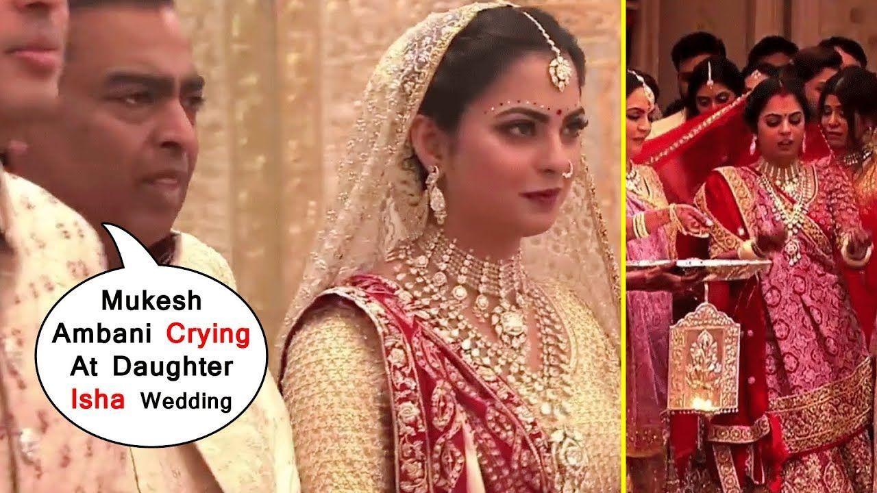 HD Mukesh Ambani Crying At All Wedding Ceremony Of