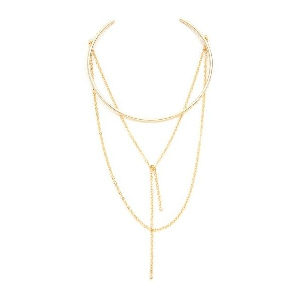 Jules Smith Loren Choker Necklace ($89) ❤ liked on Polyvore featuring jewelry, necklaces, accessories, bijoux, gold, chain collar necklace, chain choker, 14k chain necklace, collar jewelry and choker collar necklace
