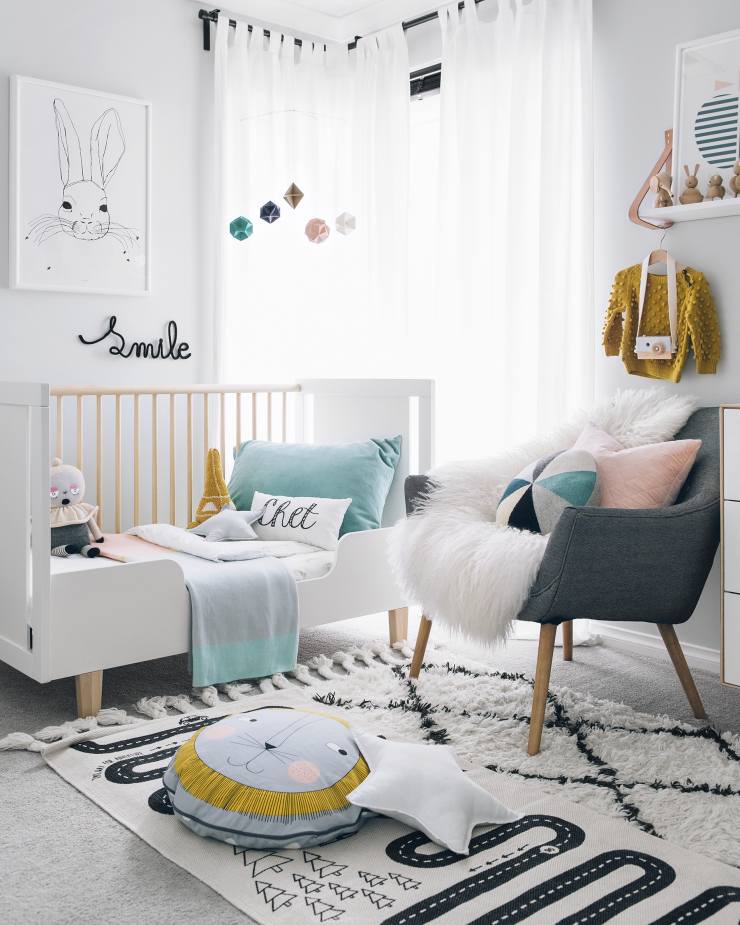 Yellow Kids Room: Modern Toddler Room - Australia