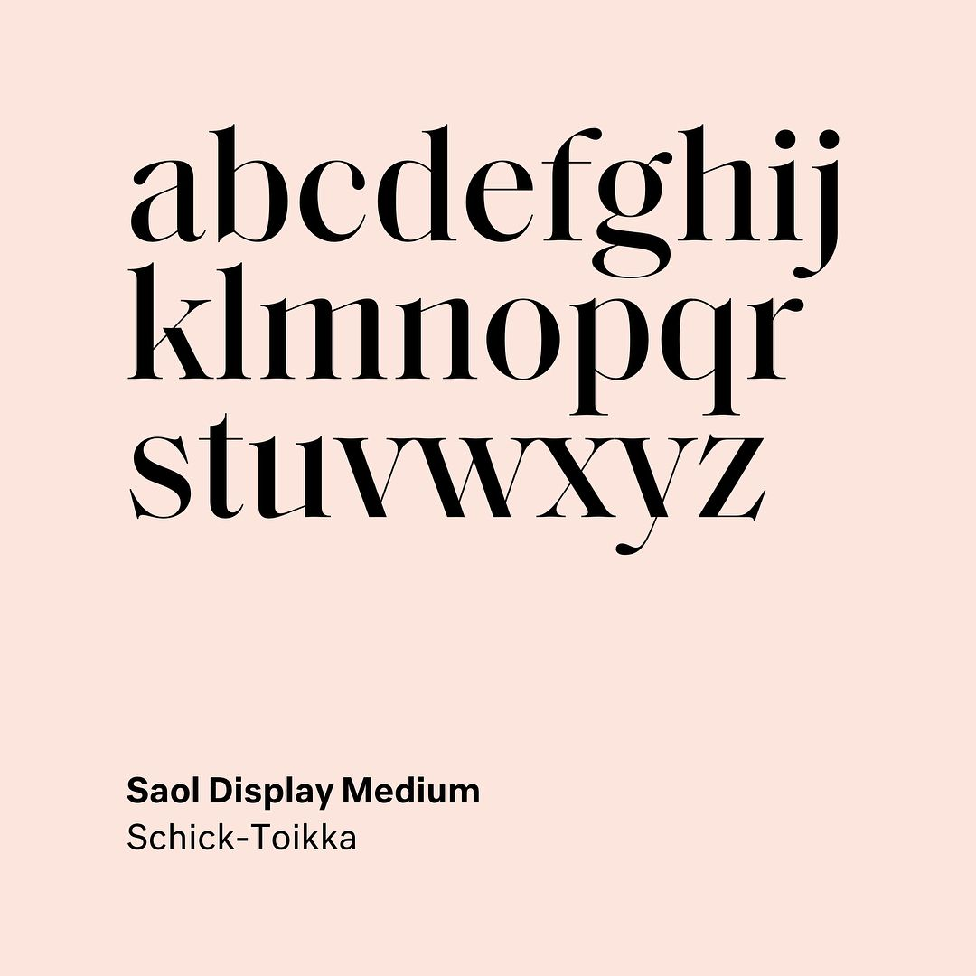 58 Likes 2 Comments Type Type Type Type On Instagram Saol Display By Florian Schick Lauri T Logo Design Typography Typography Fonts
