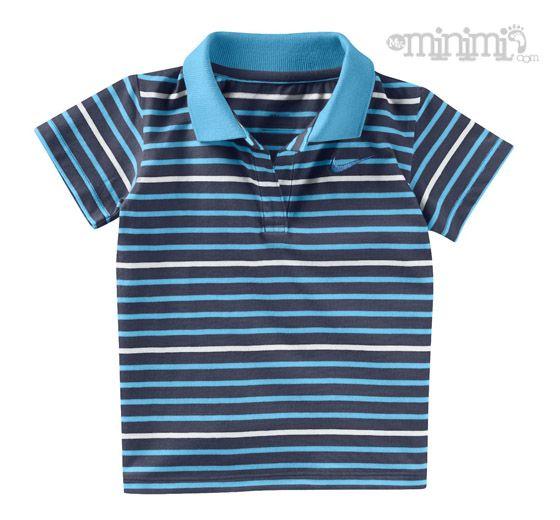 Le polo Nike Stripe Club pour Bébé (3-36 mois), fabriqué avec un coton doux et confortable, présente des lignes claires et colorées pour un style classique. Ses plus : Un col côtelé replié pour plus de confort et une coupe standard ni trop large, ni trop serrée. #Nike #Polo #Bleu #sweat #rayure #stripes #swag #classe