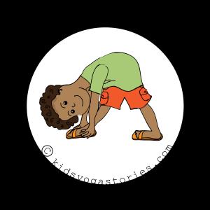 58 Fun And Easy Yoga Poses For Kids Printable Posters Yoga For Kids Kids Yoga Poses Kids Yoga Classes