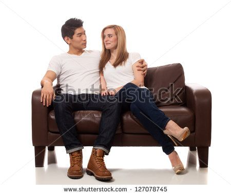 People Sitting On A Couch Stock Photos Images Pictures People Sitting Sitting Poses Stock Photos