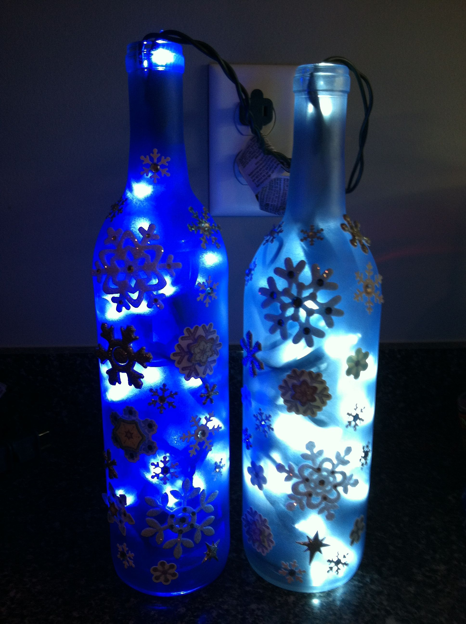 Decorated wine bottles | Wine bottle decor, Empty wine bottles