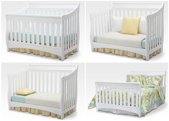 Daily Mom » Bentley 'S' Series 4-in-1 Crib by Delta Giveaway