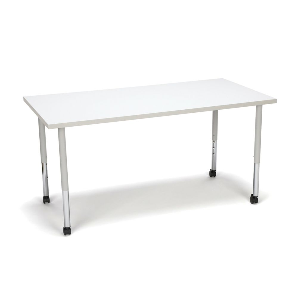 """Standard Height Mobile Group Table - 60""""W #education (With ..."""