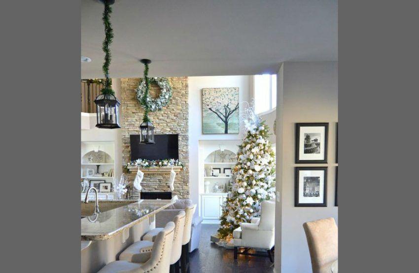 Top 10 Weihnachten Deko Ideen Zur Einen Luxus Eingangshalle