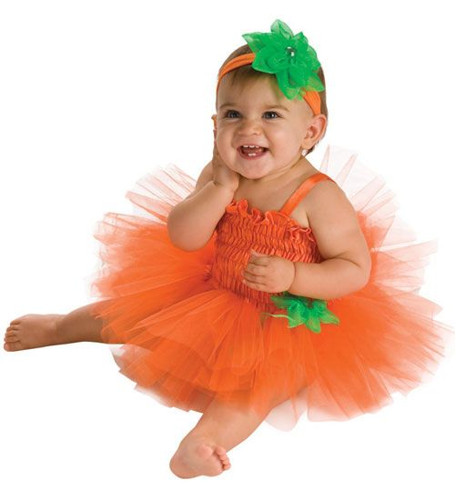 infants halloween pumpkin tutu costume halloween costume outfit for infants 6 9 months costume - Diaper Costume Halloween