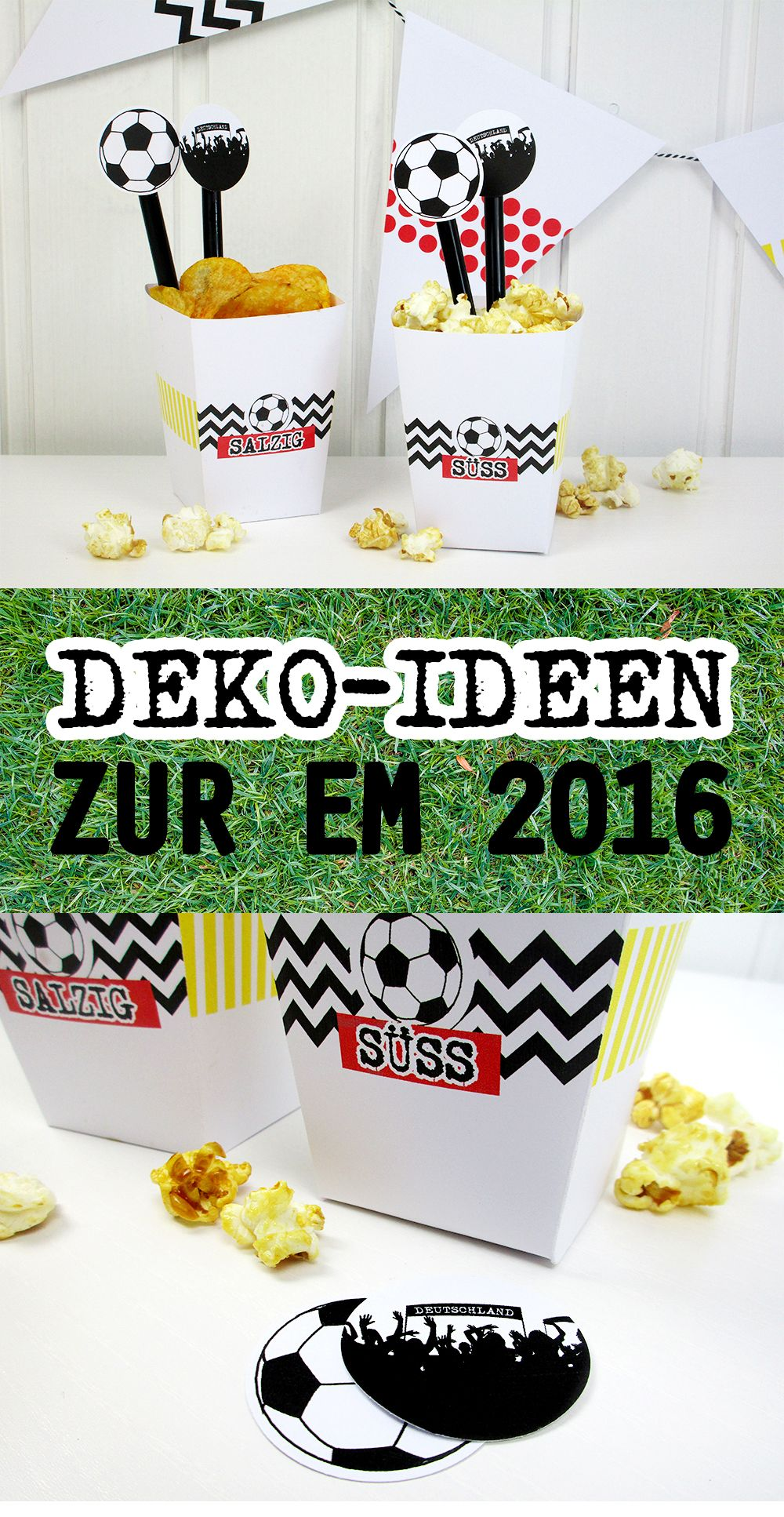 die besten 25 fussball deko ideen auf pinterest kindergeburtstag fu ball fu ball. Black Bedroom Furniture Sets. Home Design Ideas