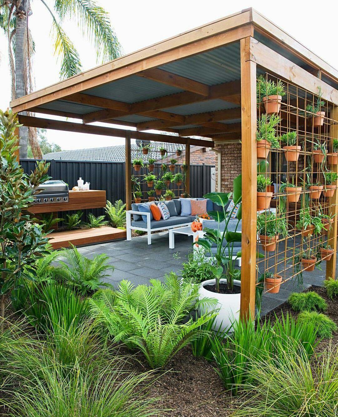 So Nice Backyard Design Backyard Garden Design Backyard Patio Backyard landscaping ideas with pergola