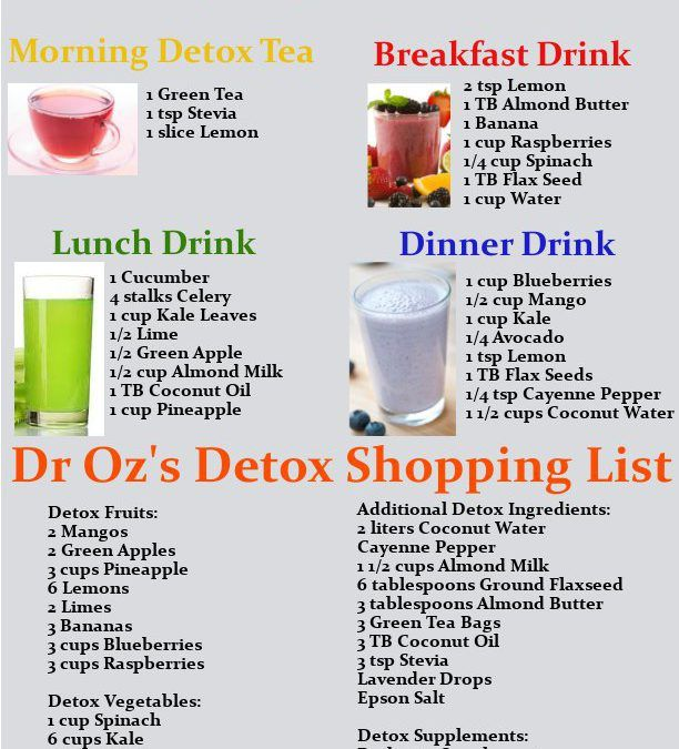 3 day diet cleanse