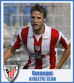 Carlos Gurpegi Athletic Club de Bilbao Midfield