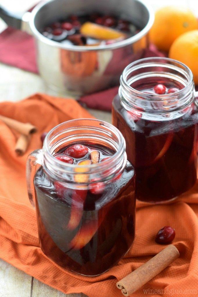 Cranberry Orange Mulled Wine
