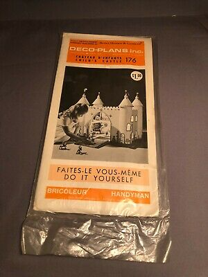 Details about Better Homes and Gardens Child s Castle Dollhouse handyman plans Deco Plans Inc