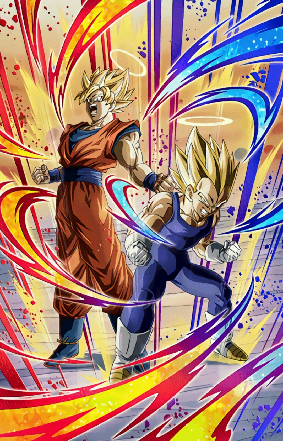 Lr Angel Goku And Vegeta Dragon Ball Z Dokkan Battle Dragon Ball Artwork Anime Dragon Ball Super Dragon Ball Wallpapers