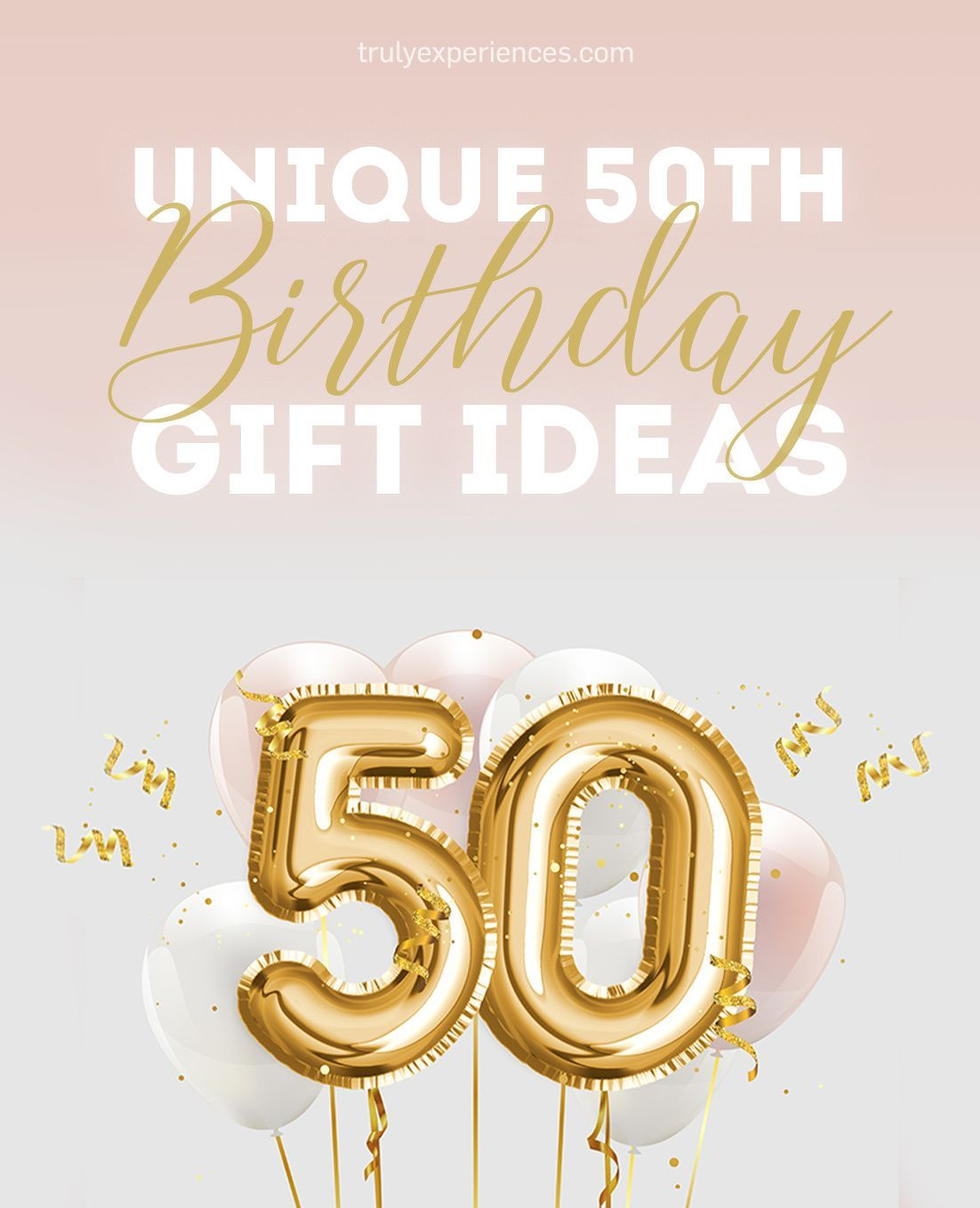 50 rocks unique 50th birthday gift ideas for men and