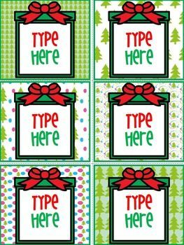 Editable Christmas Labels.Editable Labels Christmas Labels Pre School Christmas