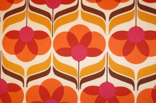 Papel pintado a os 60 s pinterest estampas vintage - Papel pintado anos 60 ...
