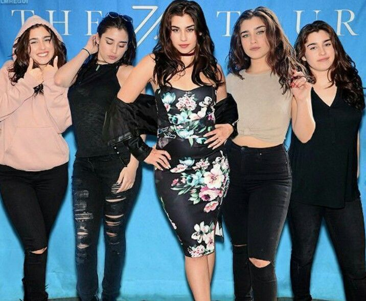 Lauren's outfits 7/27 tour meet & greet | Fifth Harmony ...