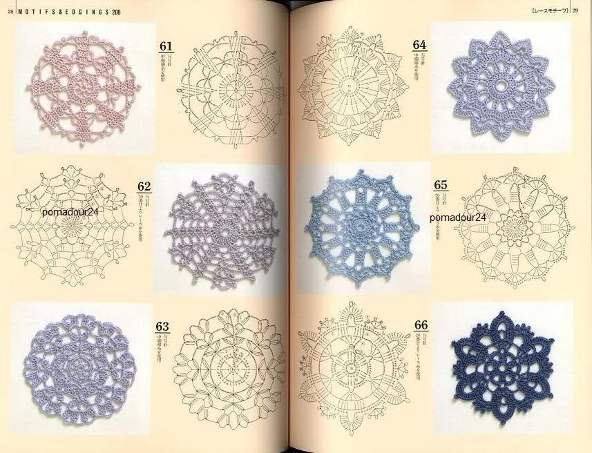 Famous Japanese Crochet Pattern Vignette - Easy Scarf Knitting ...
