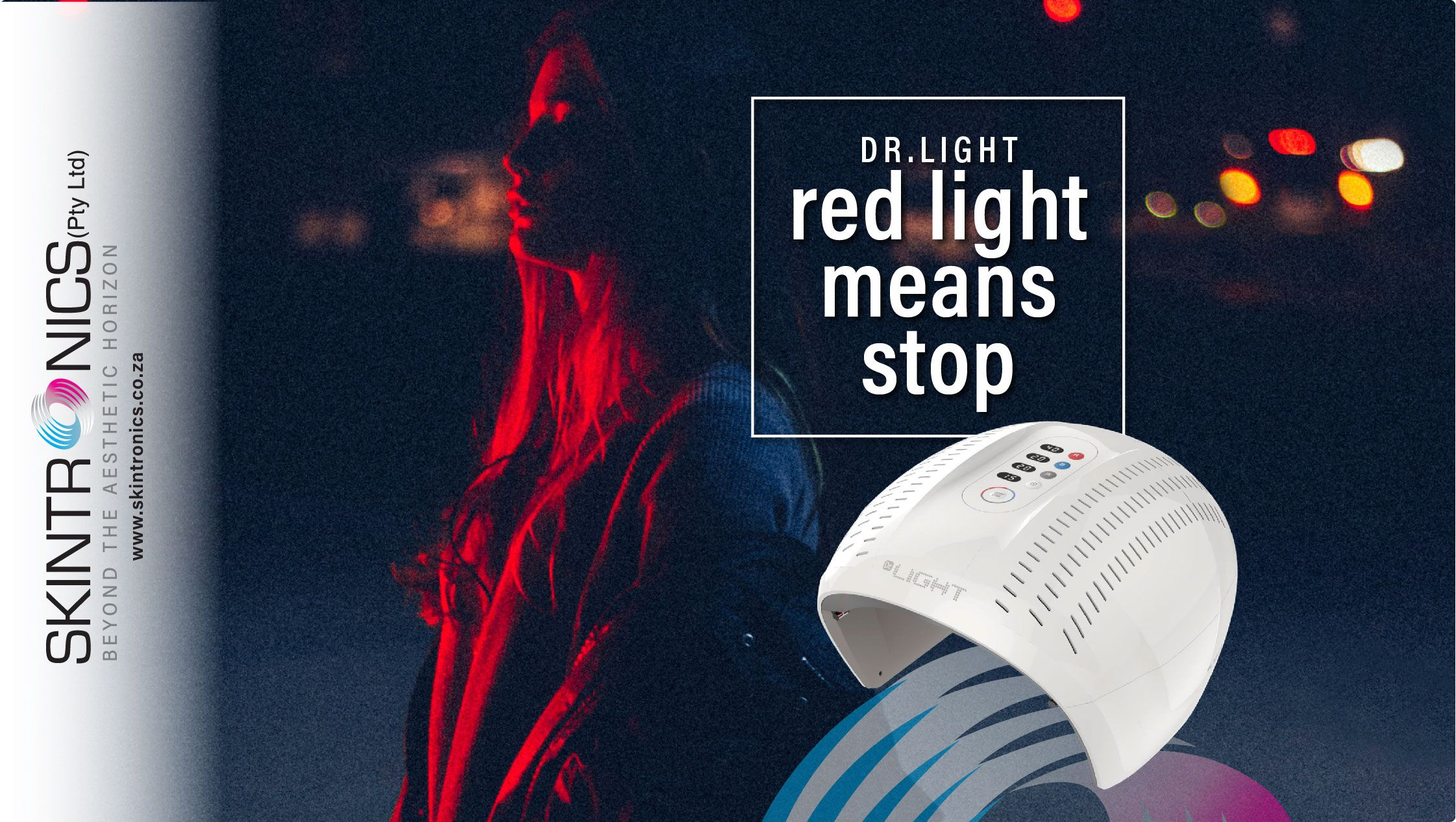 Red means stop but when it comes to LED Light it