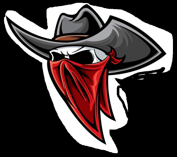 Bandits Chapeu desenho, Logos esportivos, Brasão de times