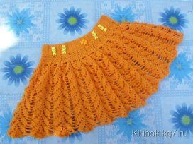 48 одноклассники юбки вязание вязание крючком детское вязание