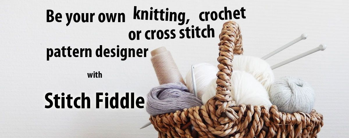 Stitch Fiddle is an online crochet, knitting and cross stitch ...