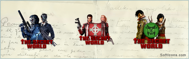 The Secret World Factions Icons by IvanCEs