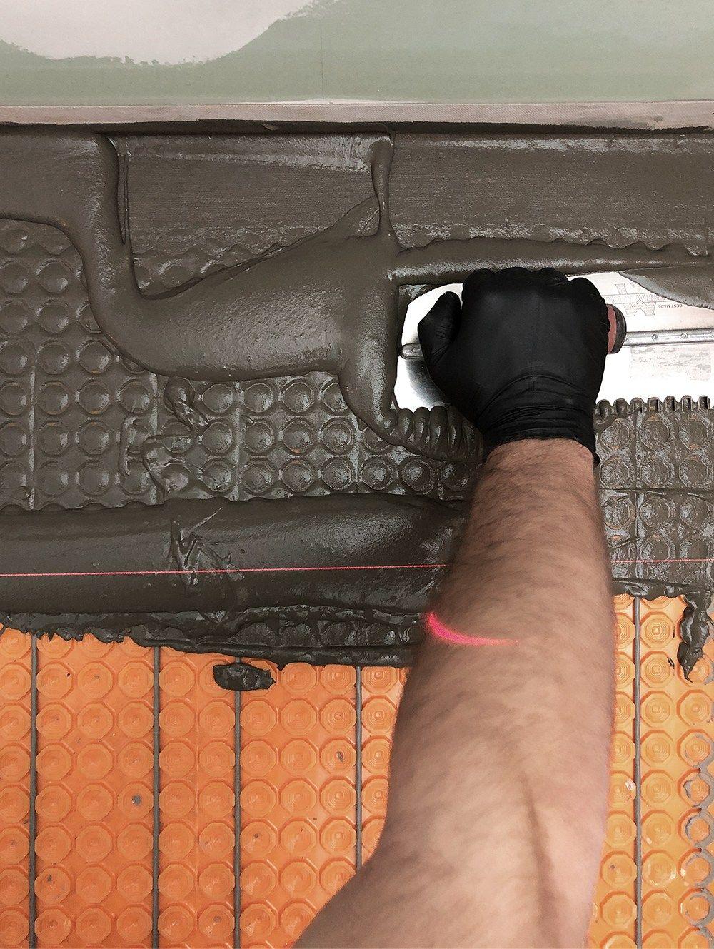 DIY Heated Floor Tile Tutorial in 2020 | Heated floors ...