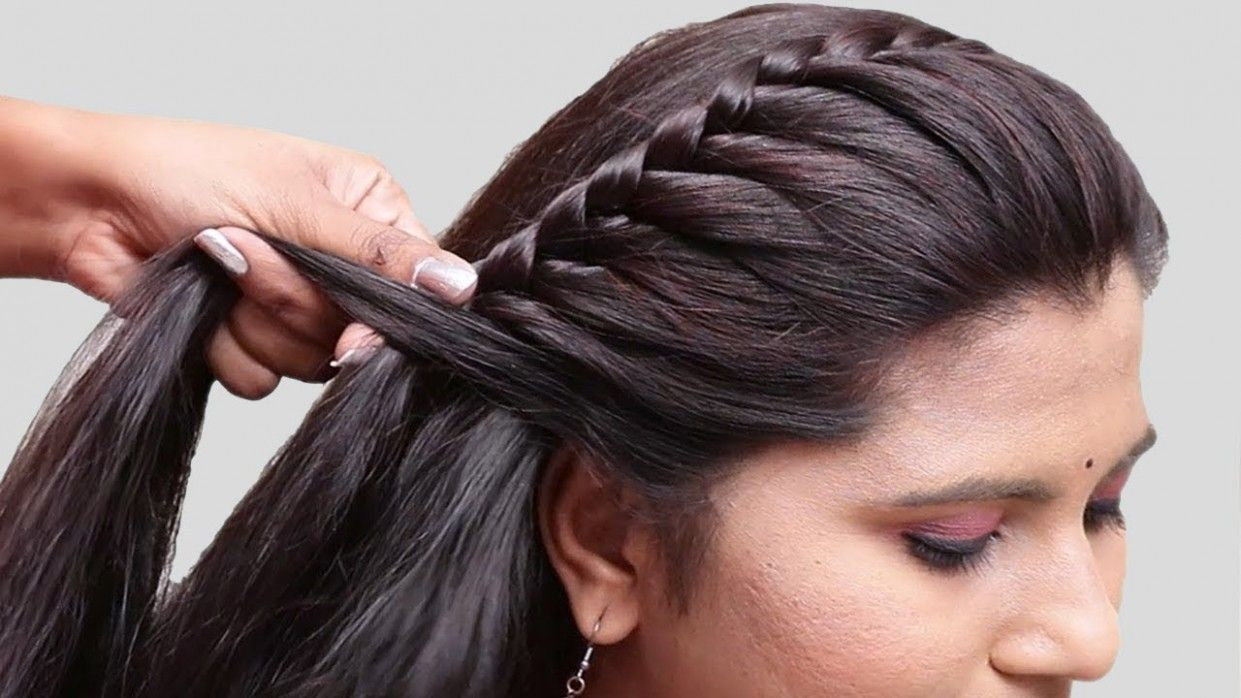 Wedding Easy Hairstyle Video in 10  Braided hairstyles easy