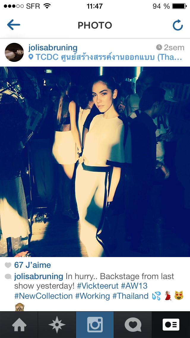 Lisa Bruning's instagram