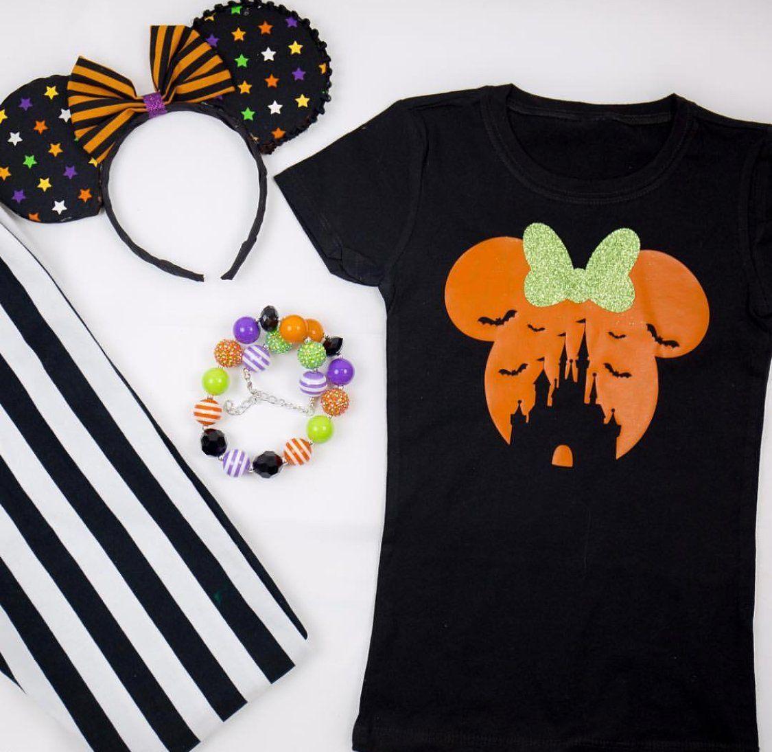 Mickey Haunted Castle, Halloween Disney Tshirt, Halloween