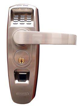 Bioaxxis Thumblock Fingerprint Door Lock With Audit Trail Thumblock Bioaxxis Fingerprint Door Lock Door Locks Doors